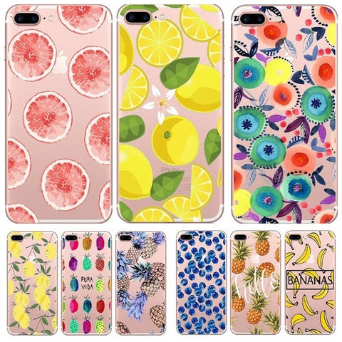 coque fruit iphone 7 plus