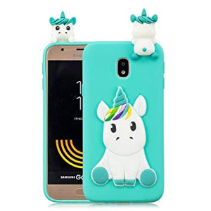 coque galaxy j3 2017 licorne