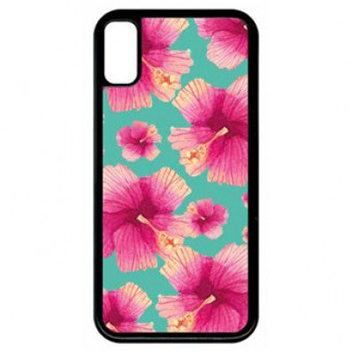 coque hibiscus iphone 8