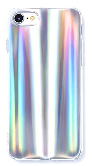 coque holographique iphone 8