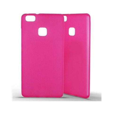 coque huawei p9 lite rose silicone