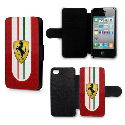 coque iphone 12 ferrari logo