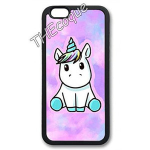 coque iphone 4 licorne kawaii