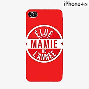 coque iphone 4 mamie