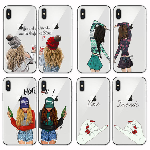 coque iphone 5 best friends deux coque