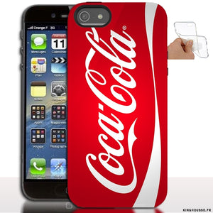 coque iphone 5 coca cola