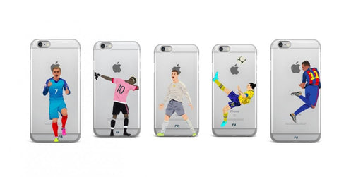 coque iphone 5 football joueur