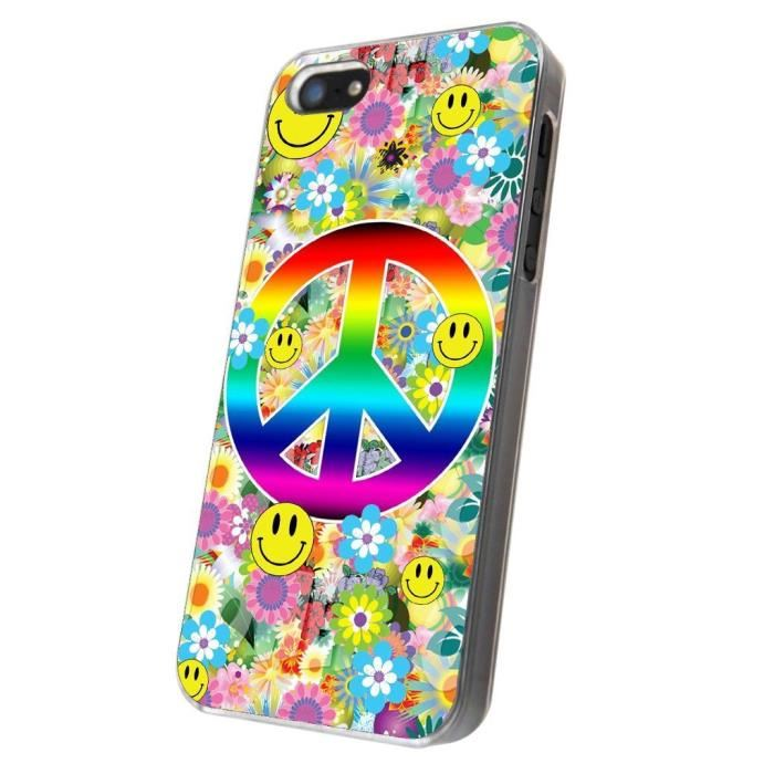 coque iphone 5 hippie