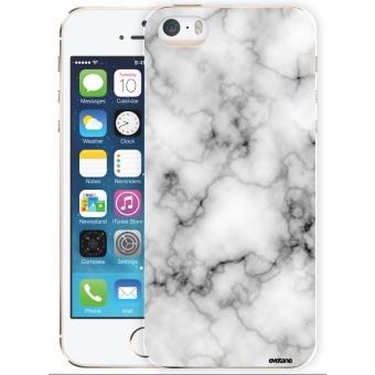 coque iphone 5 marbre blanc
