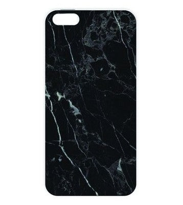 coque iphone 5 marbre noir