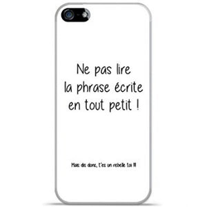 coque iphone 5 message drole