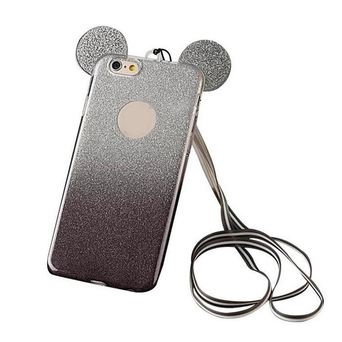 coque iphone 5 oreille de mickey noir