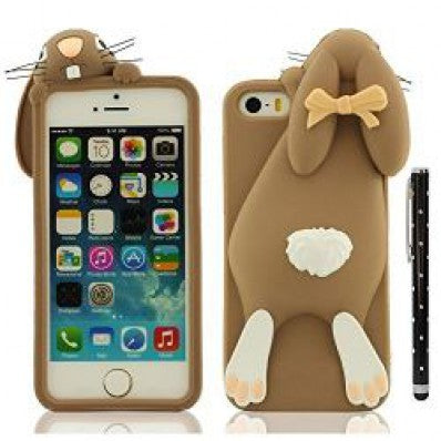 coque iphone 5 silicone drole