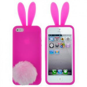 coque iphone 5 silicone lapin
