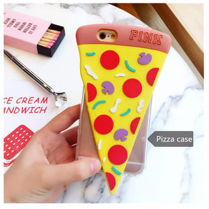 coque iphone 6 3d pizza