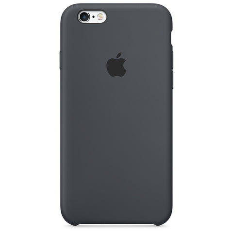 coque iphone 6 apple silicone gris