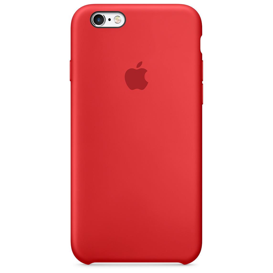 coque iphone 6 apple silicone rouge