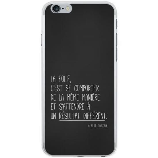 Coque iphone 6s phrases