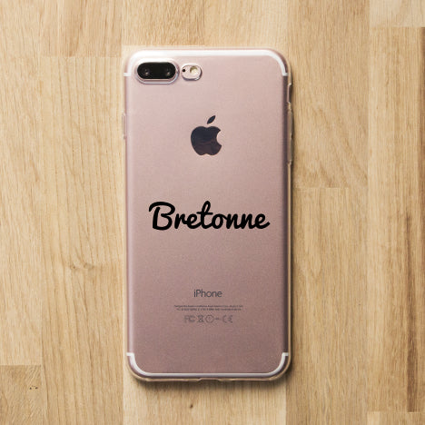 coque iphone 6 bretonne