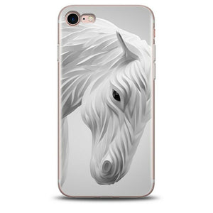 coque iphone 6 cheval 3d