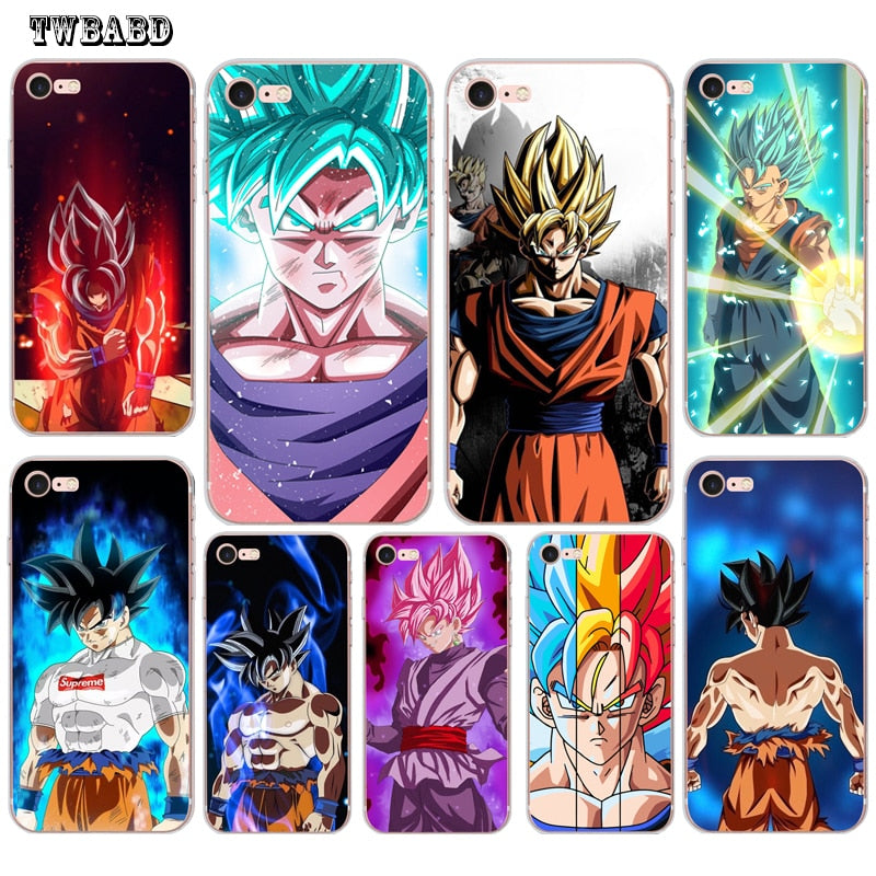 coque iphone 6 dragon ball silicone