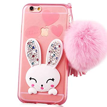 coque iphone 6 lapin 3d