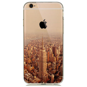 coque iphone 6 new york en silicone