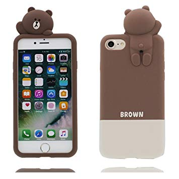 coque iphone 6 ours silicone