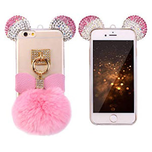 coque iphone 6 plus pompom