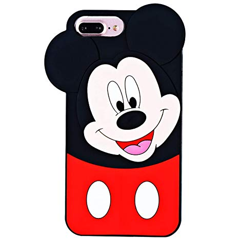 coque iphone 6 plus silicone mickey