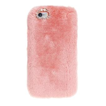 coque iphone 6 poil rose