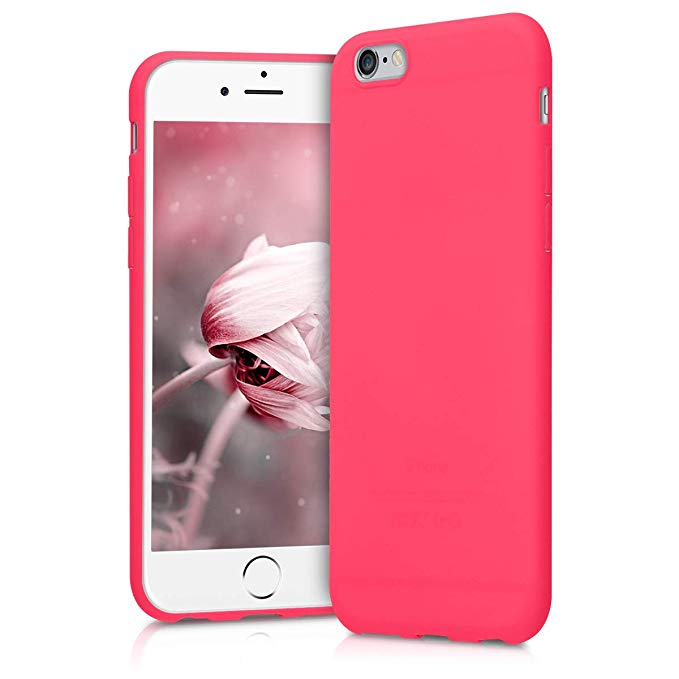 coque iphone 6 rose fluo