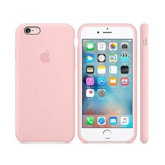 coque iphone 6 rose silicone
