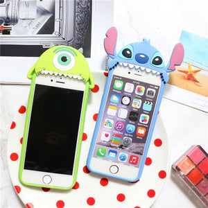 coque iphone 6 silicone 3d disney