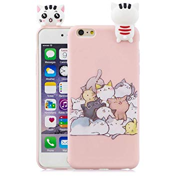 coque iphone 6 silicone mtif chat