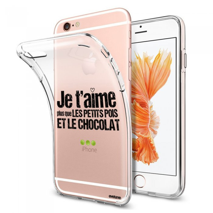 coque iphone 6 souple transparente