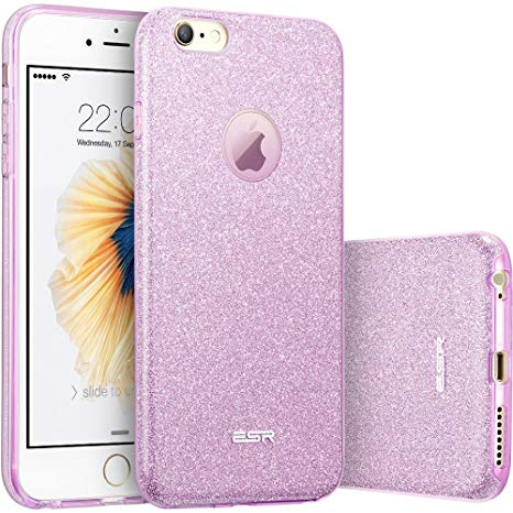 coque iphone 6 violet paillete