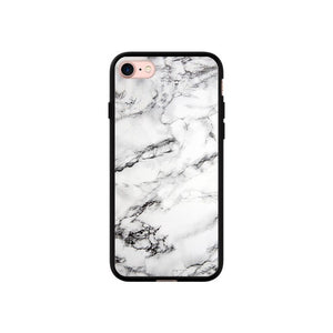 coque iphone 7 marbre blanc