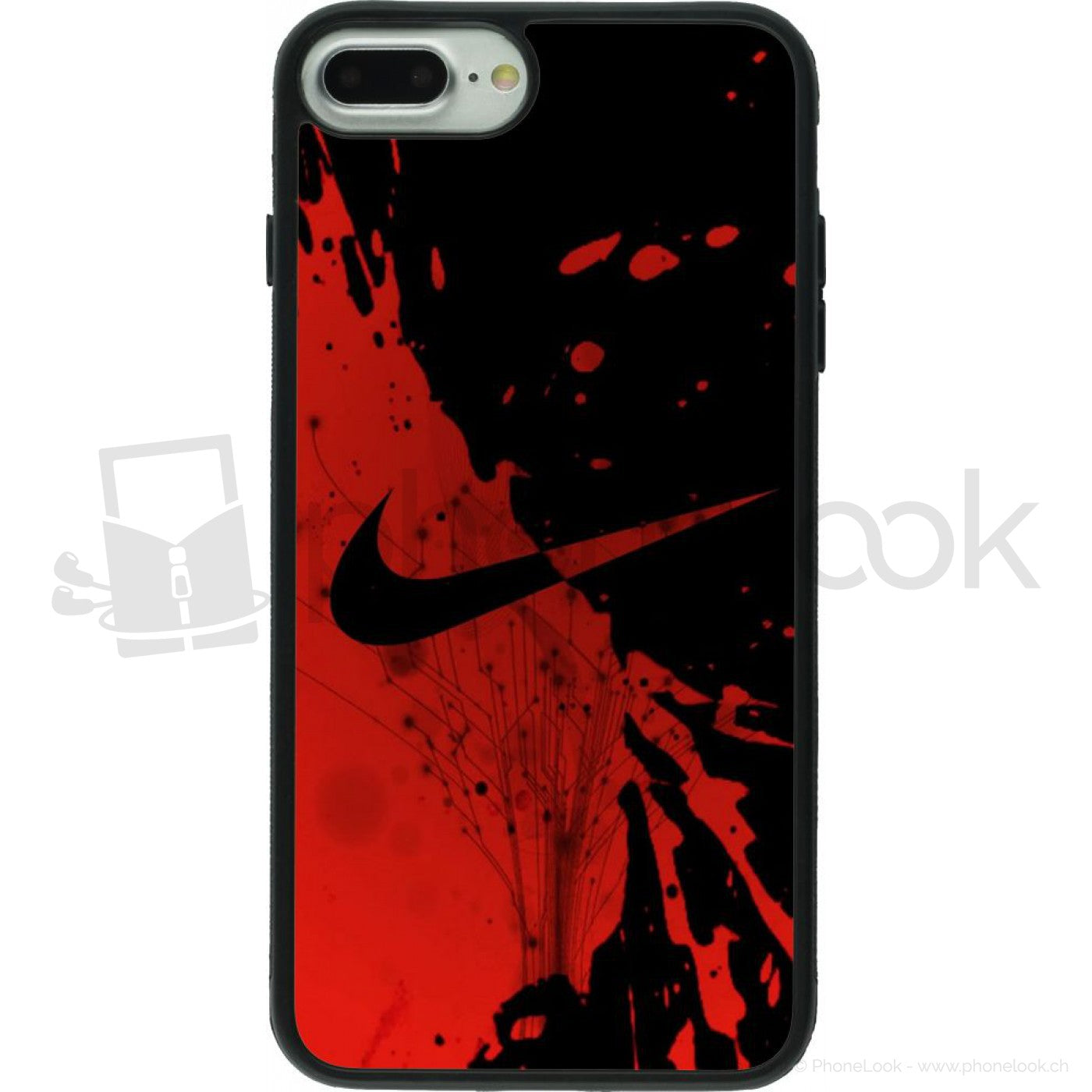 coque nike rouge