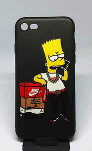 coque iphone 7 plus bart simpson