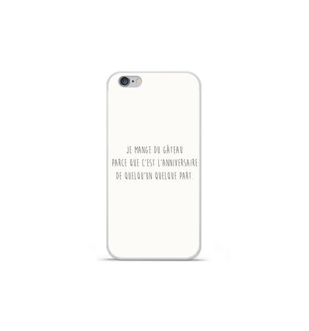 coque iphone 7 silicone citation