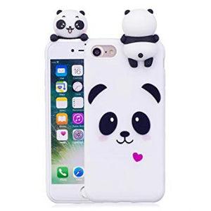 coque iphone 8 animaux silicone