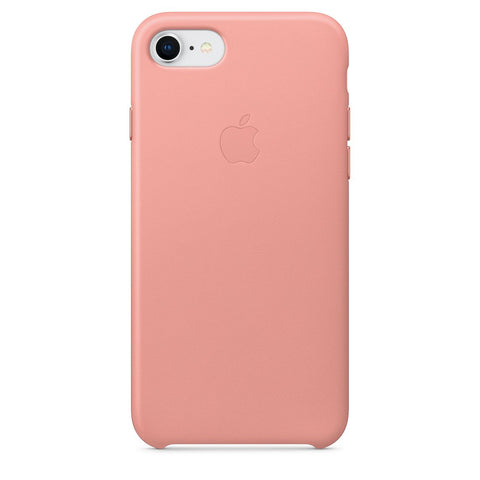 coque iphone 8 apple cuir rose
