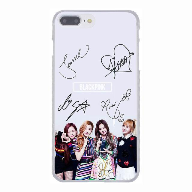 coque iphone 8 blackpink