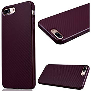 coque iphone 8 bordeaux silicone