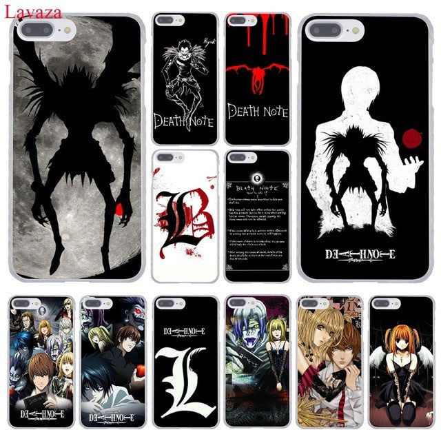 coque iphone 8 plus death note