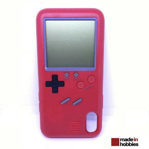 coque iphone 8 plus game boy rouge