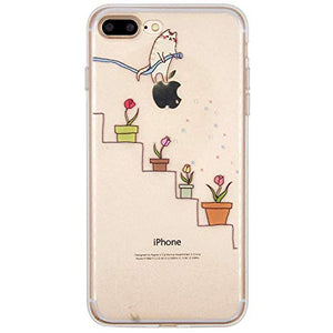 coque iphone 8 plus motif transparente