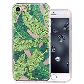 coque iphone 8 rigide feuille
