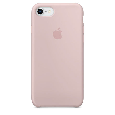 coque iphone 8 silicone rose des sable